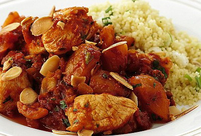 Moroccan Chicken and Vegetables for Slow Cooker