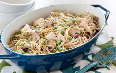 Chicken Tetrazzini - Slow cooker Chicken Tetrazzini recipe