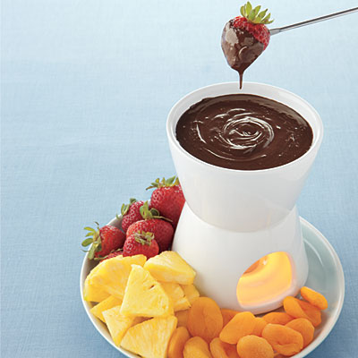 Super Soy Chocolate Fondue
