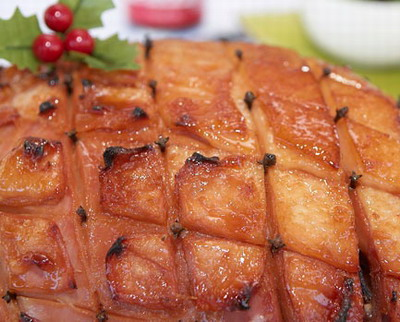 Easy Slow Cooker Christmas Ham