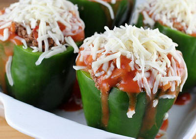 Meat-Free Stuffed Bell Peppers for Slow Cooker