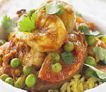 Prawn Pea and Tomato Curry