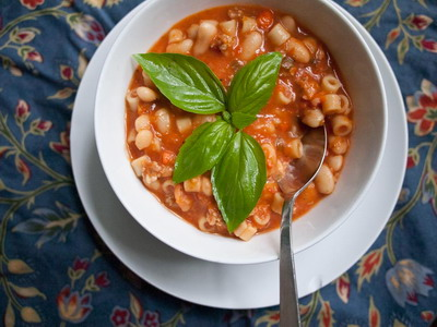 Sausage White Bean Soup