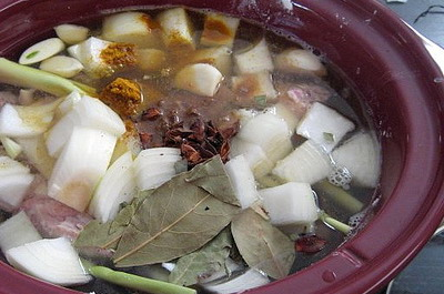 Slow Cooking Vegetables