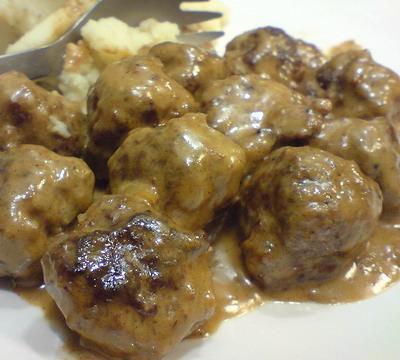 Super Slow Cooker Swedish Meatballs