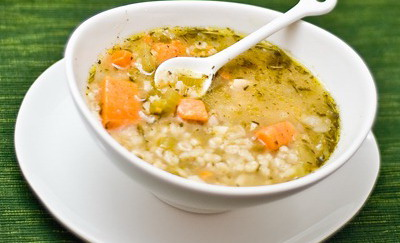 Savory Slow Cooker Barley Stew
