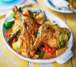 Tender Duck and Pineapple Red Curry